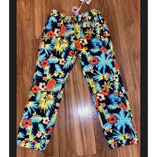 Crest Jeans 6x tropical Hawaiian pants