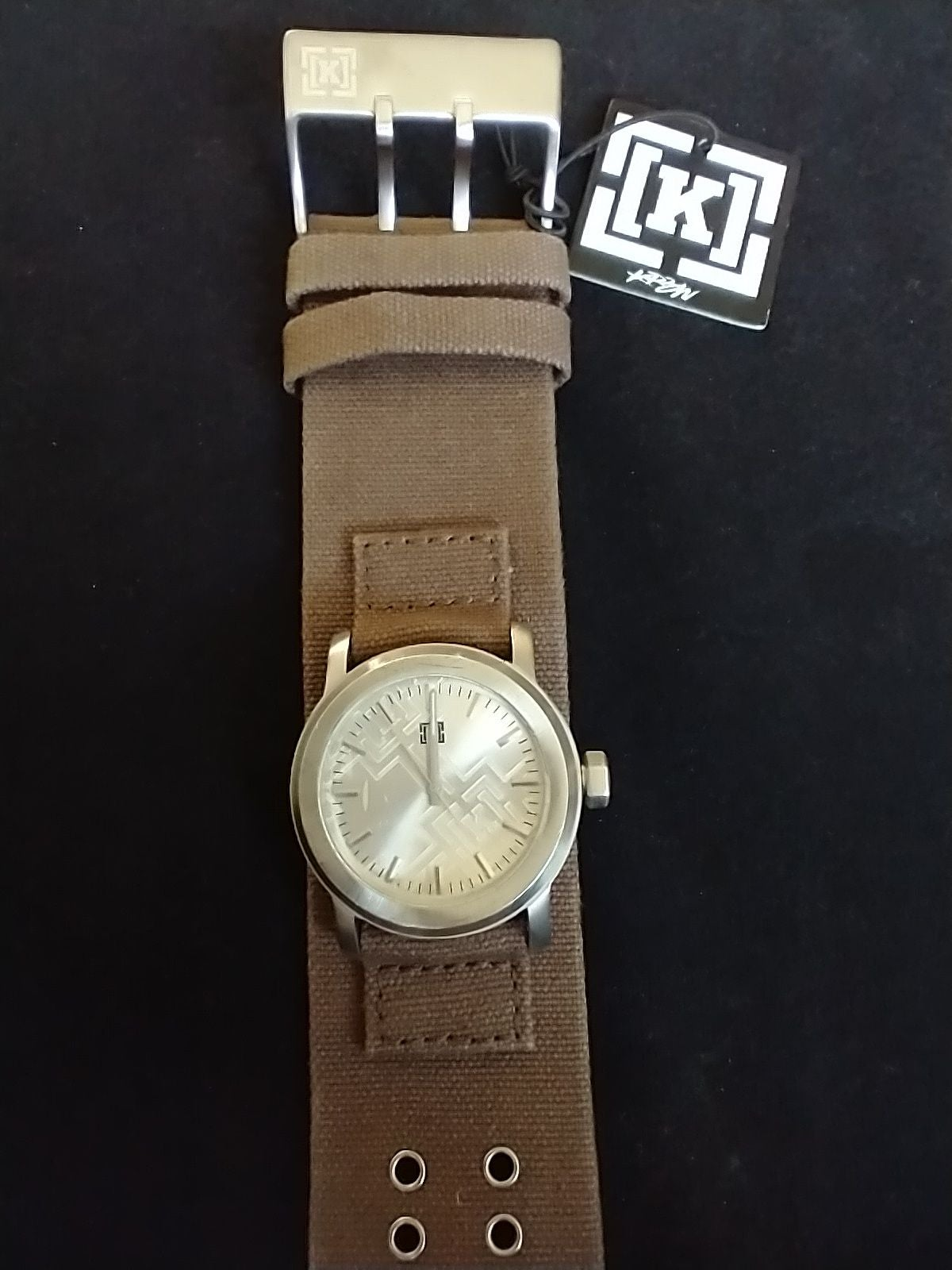 KREW Brown Cuff Watch KR3W