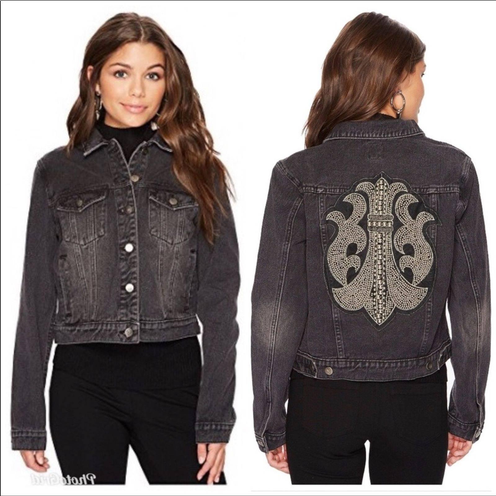 New MinkPink Embellished Cotton Jacket