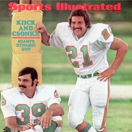 1972 Sports Illustrated Miami Dolphins