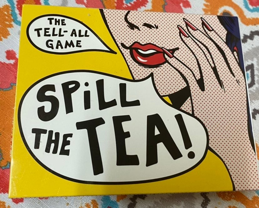 Spill The Tea Card Game