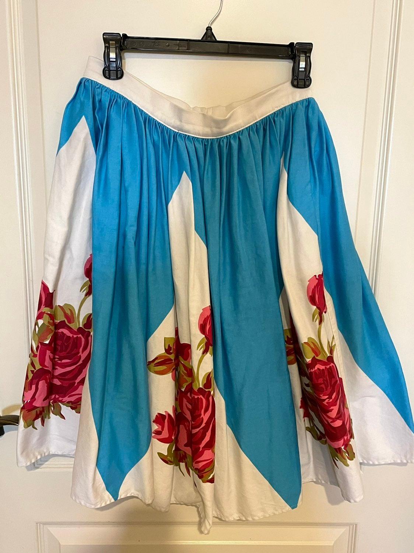 Rose Border Jenny Skirt