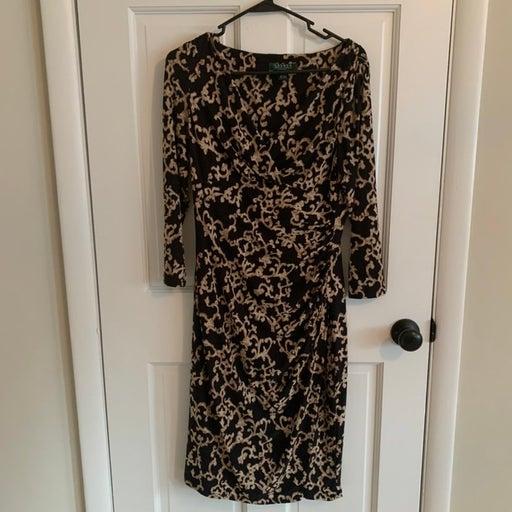Ralph lauren long sleeve dress size 6
