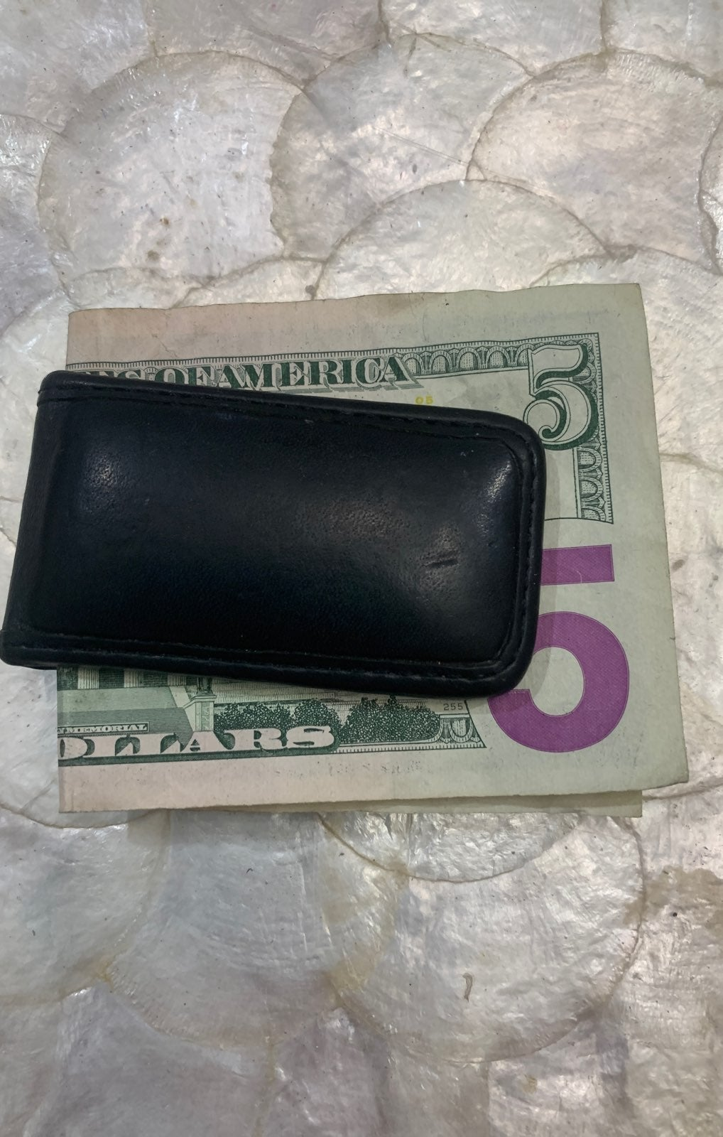 Cole Haan magnetic money clip