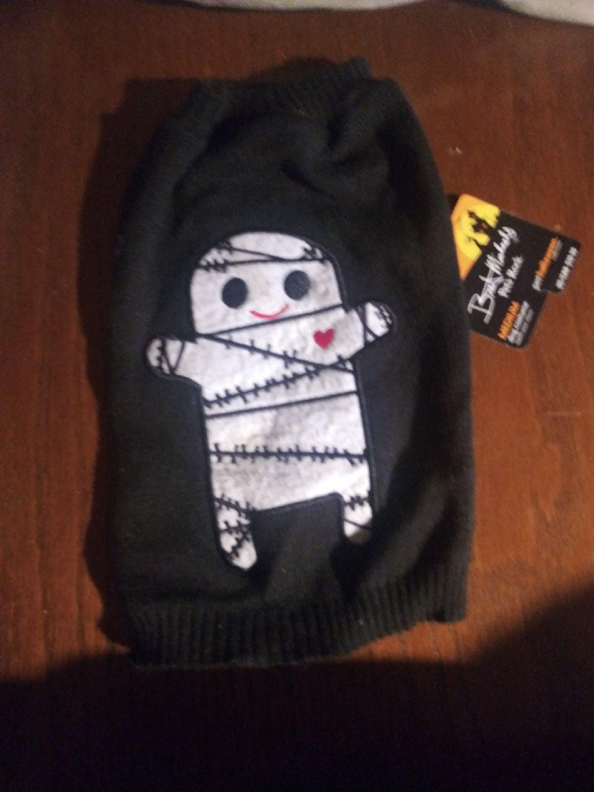 Bret Michaels pet rock halloween sweater