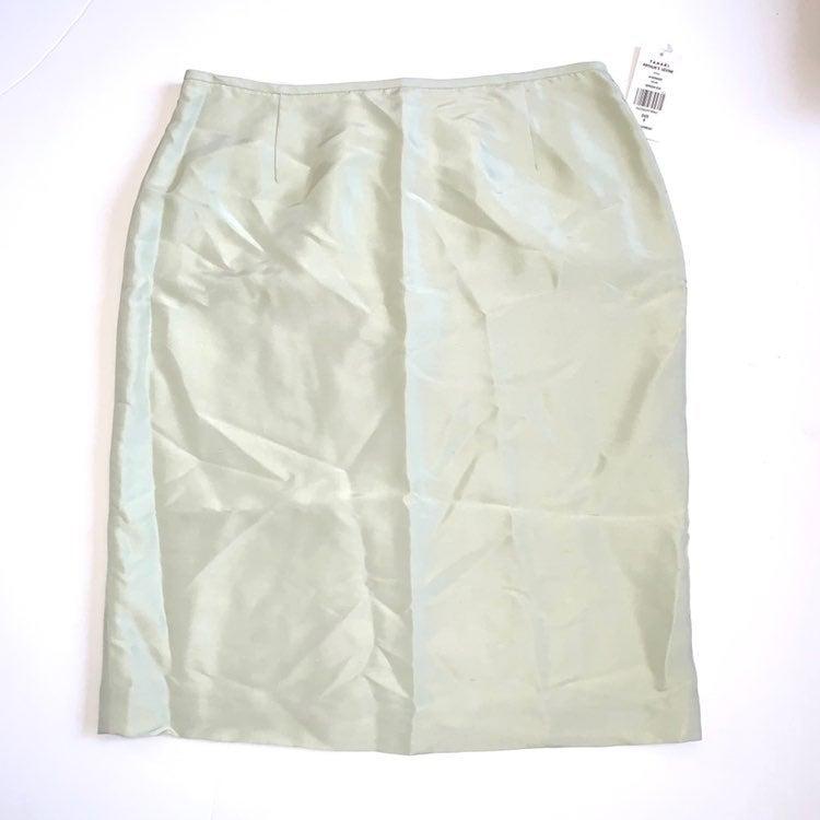 Tahari ASL Pencil Silk Skirt size 8