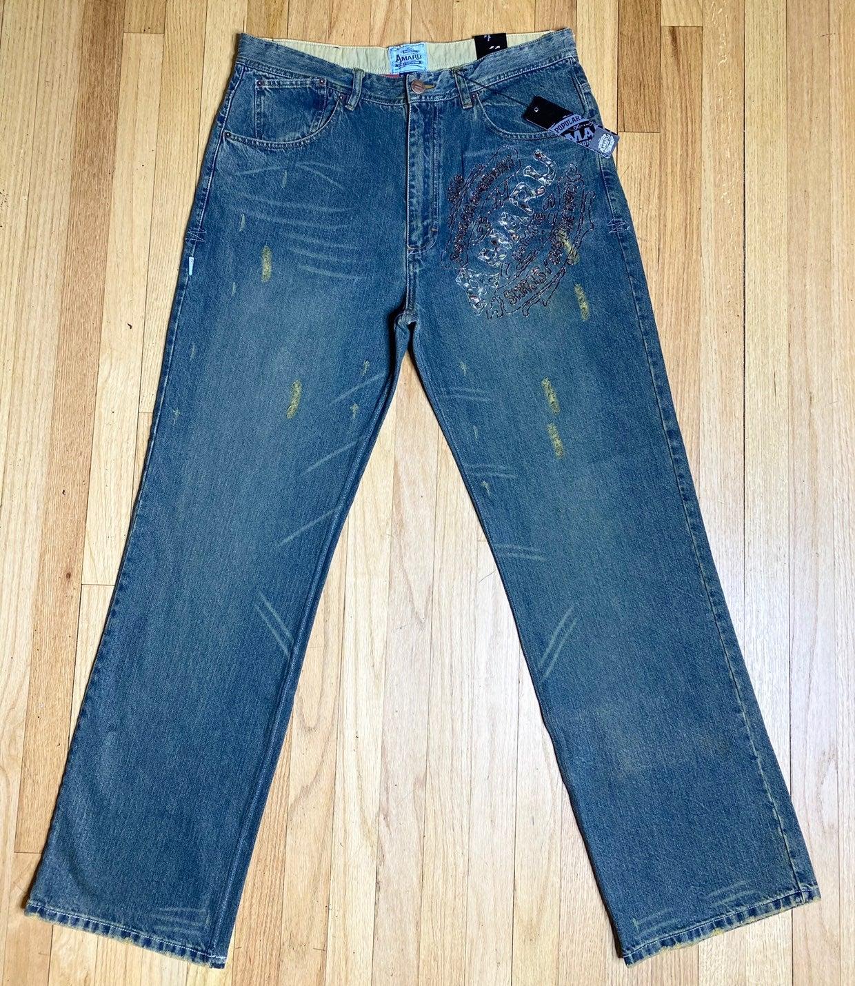 Amaru Blue Jeans men size 38