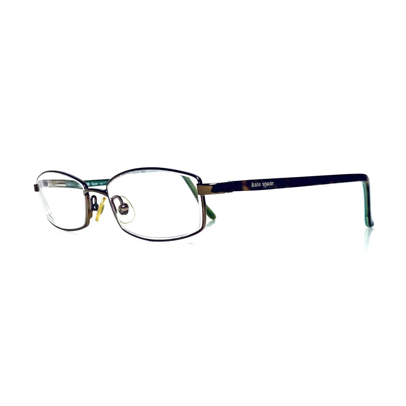 Kate Spade Gold Rectangular Glasses