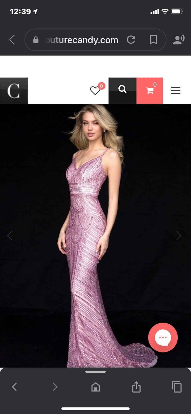 Light Pink Sherri Hill Prom Pageant Hoco