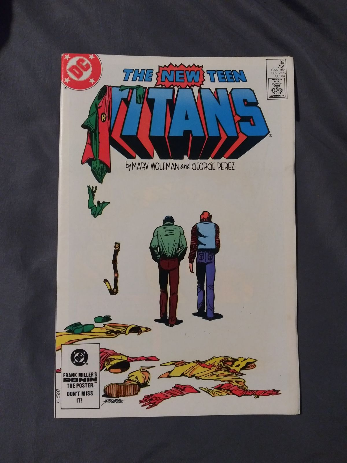 The New Teen Titans 39Last Dick Grayson