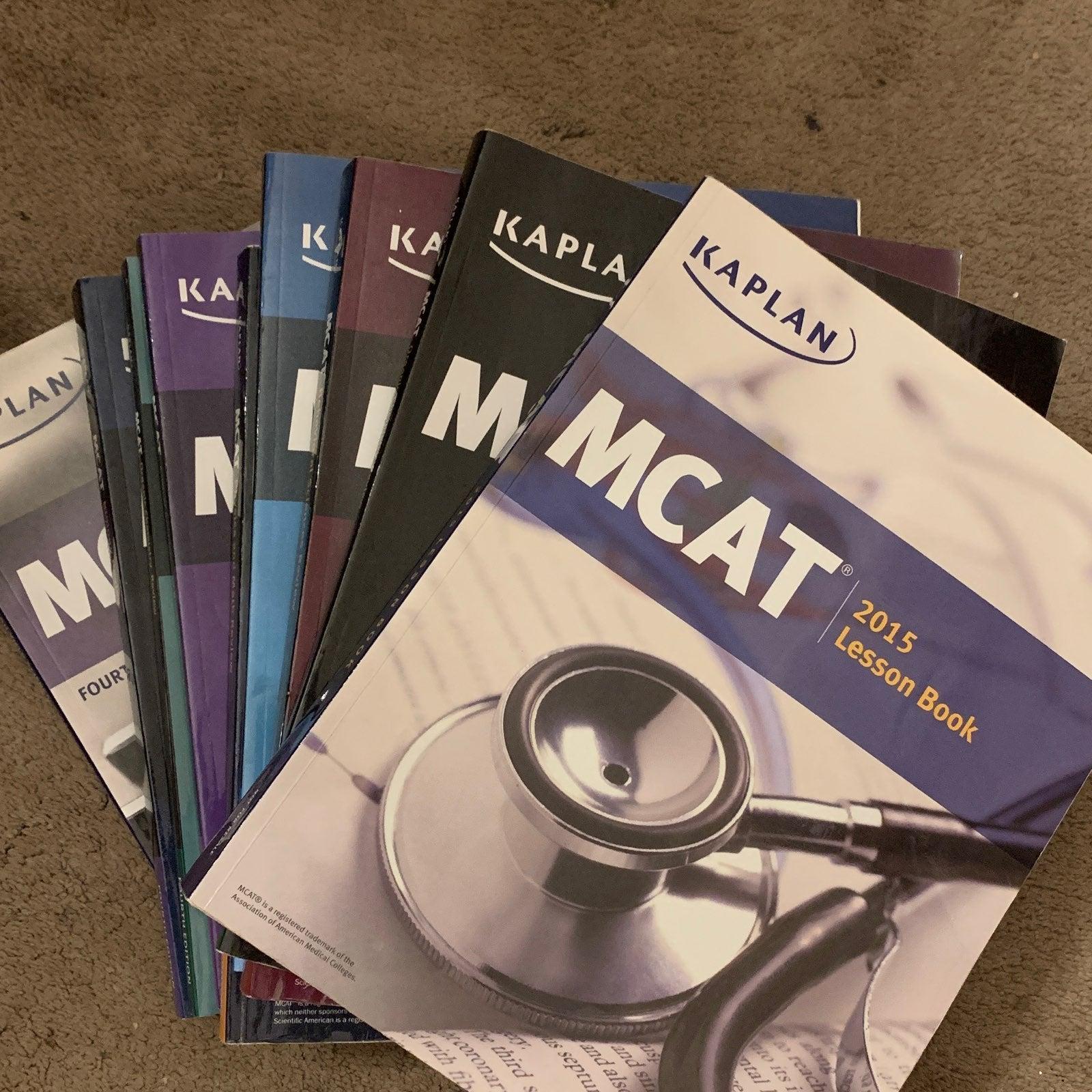 Kaplan MCAT Books Lot