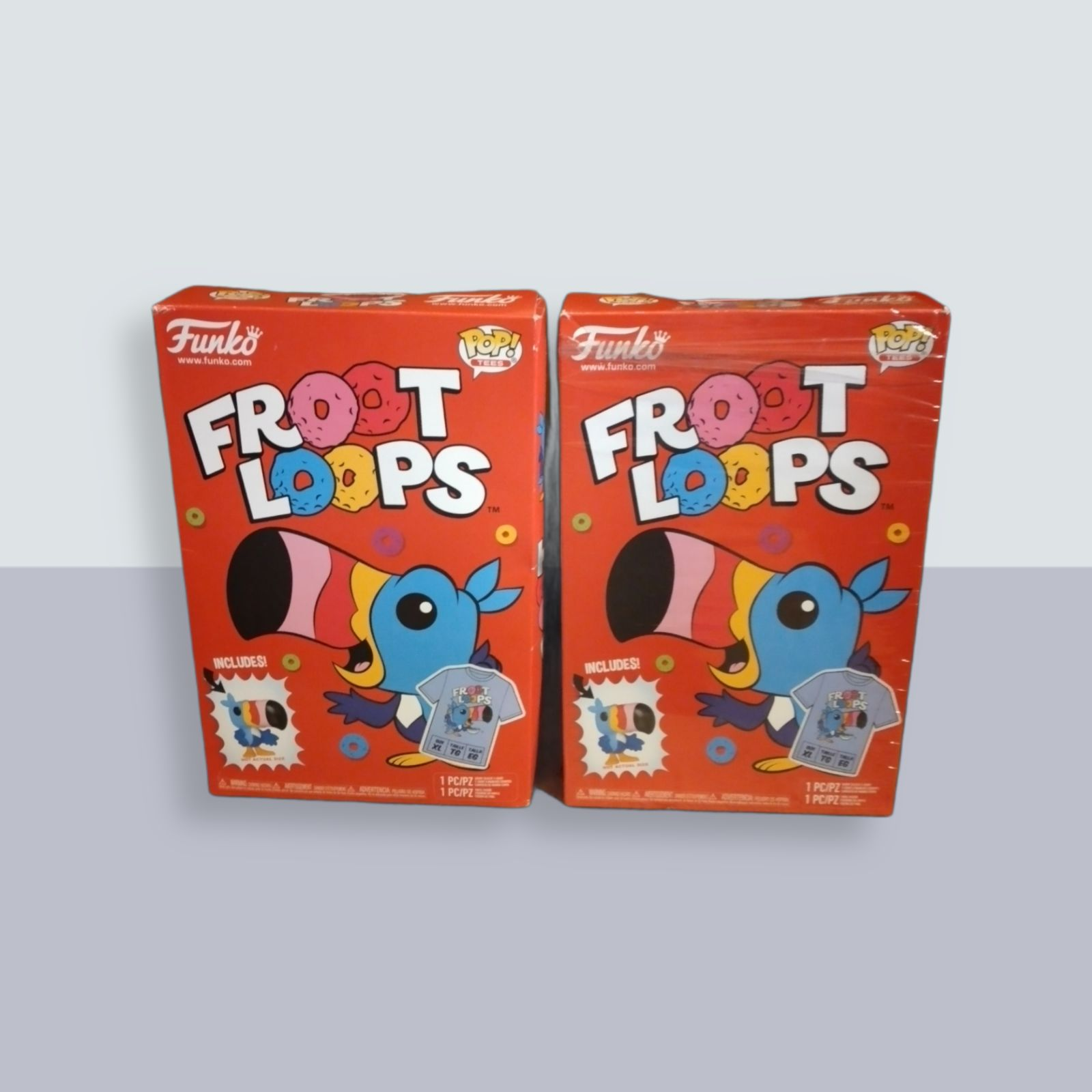 New Sealed Fruit Loops Funko Tshirt Pop