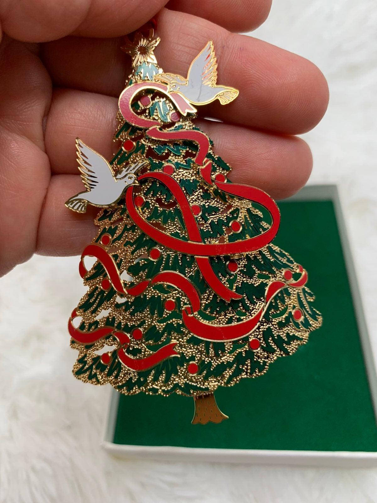 Christmas Ornament with Box ~ Christmas