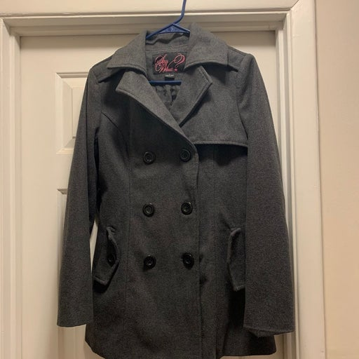 Say what? Peacoat size large