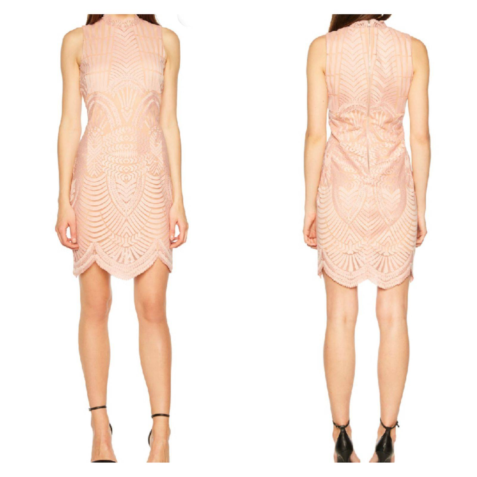 Bardot Alice Mock Neck sheath Dress