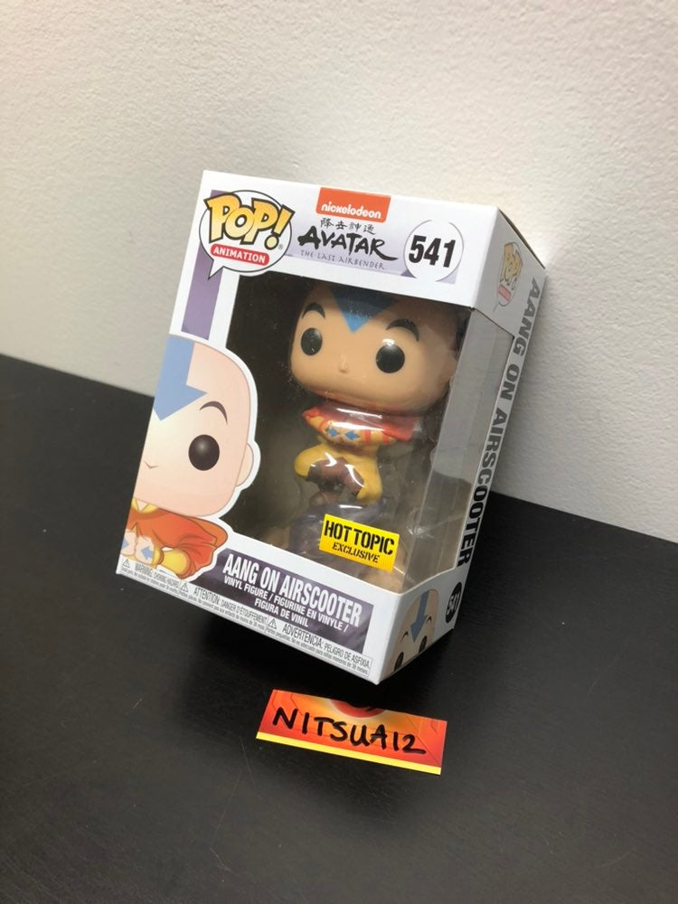 Aang on Airscooter funko pop hot topic