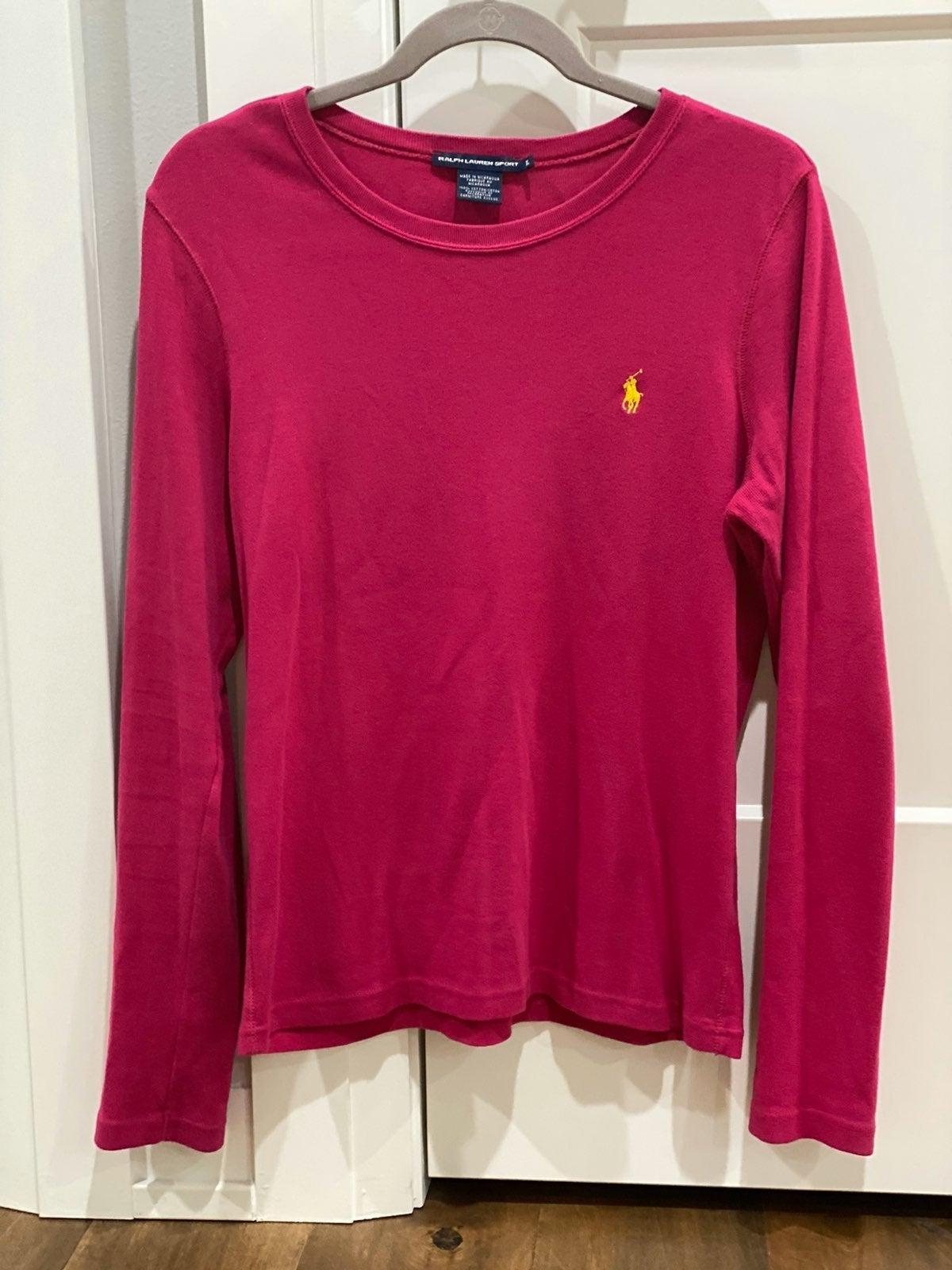 Ralph Lauren POLO Bright Pink Shirt XL