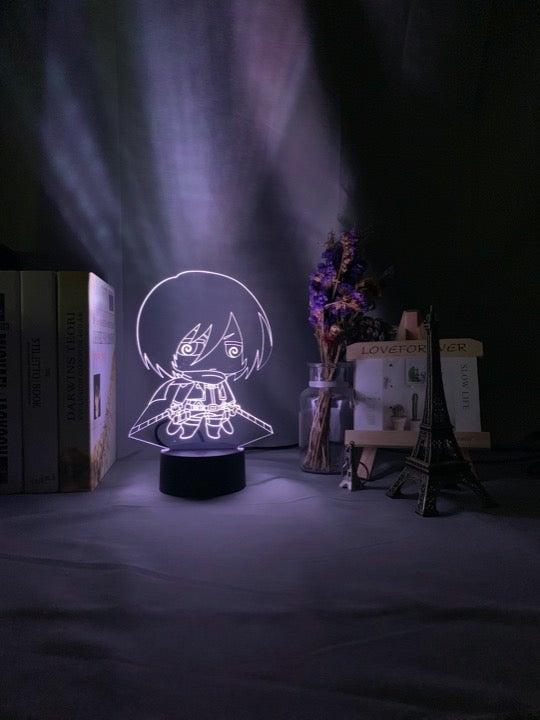 Attack on Titans Chibi Mikasa Light