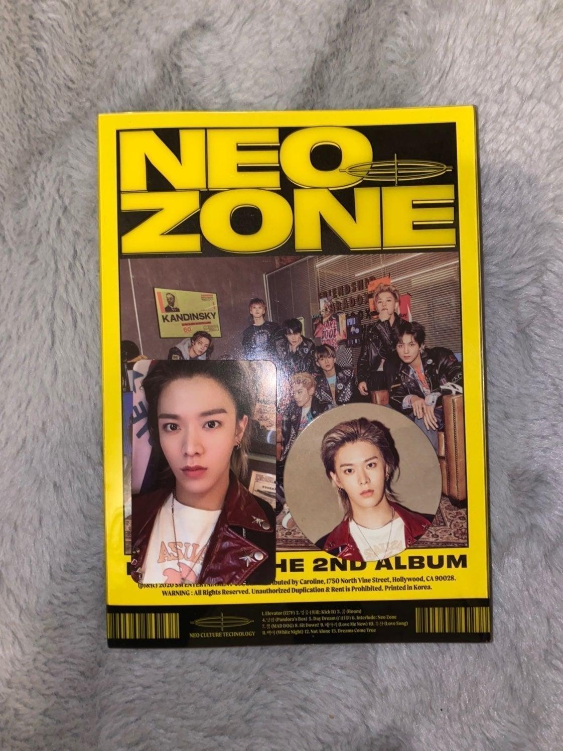 neozone album nct 127 yuta