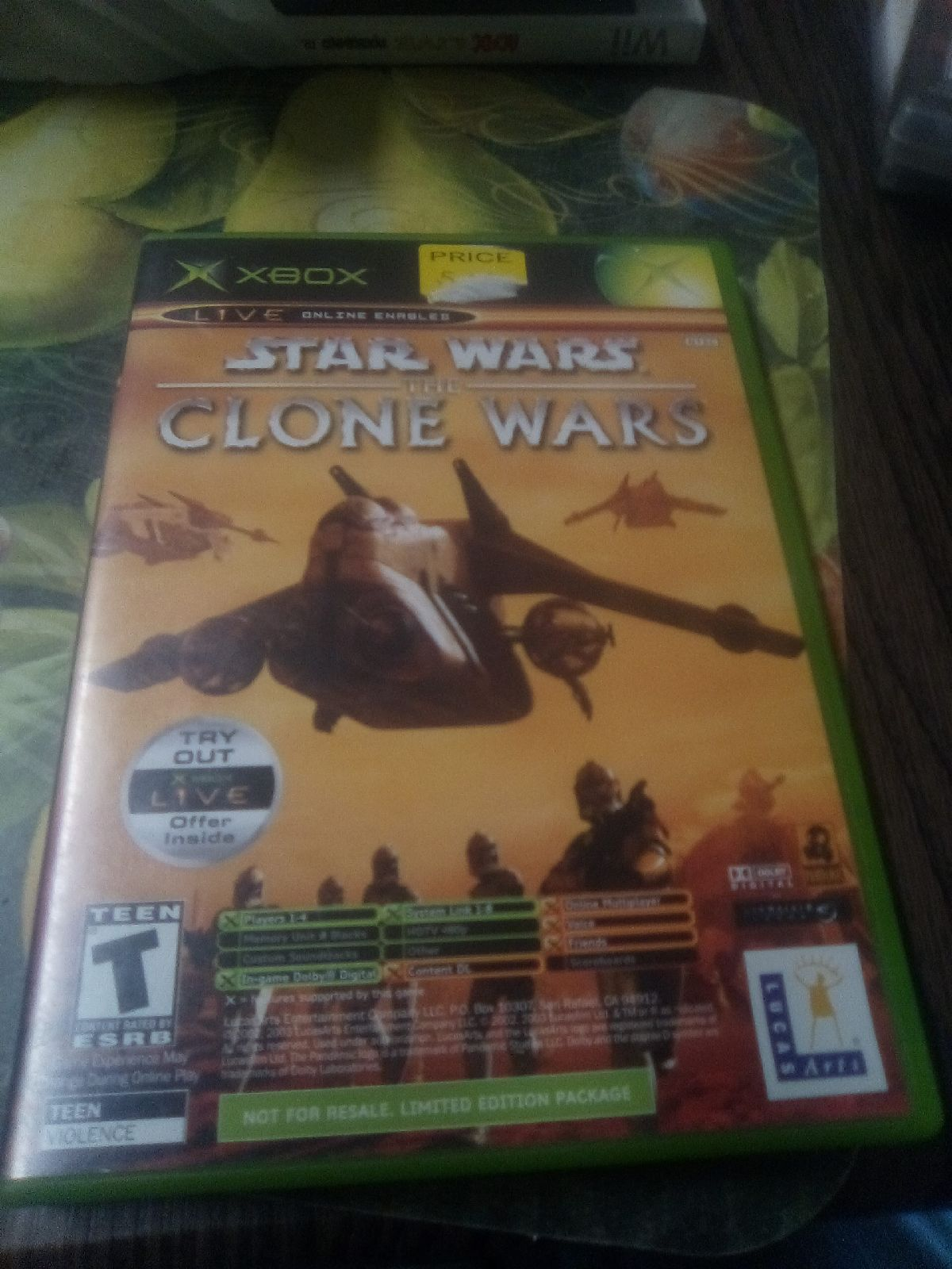 Star Wars Is The Clone Wars&Tetris World