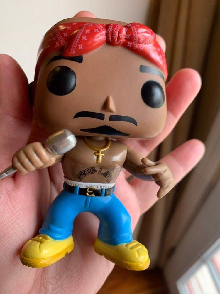 Funko Pop Rocks Tupac 19 figure