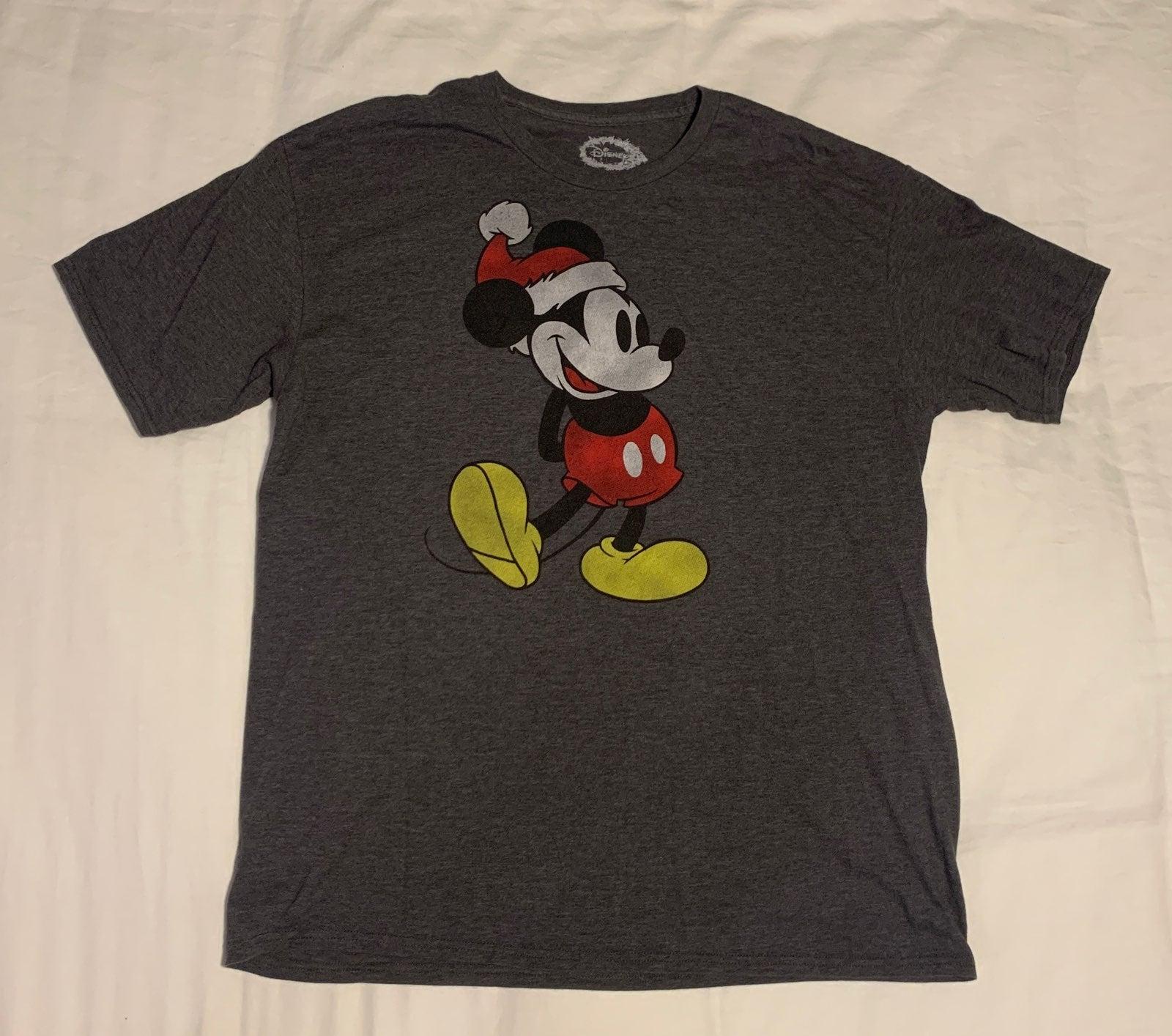 Christmas Mickey Mouse Mens Shirt