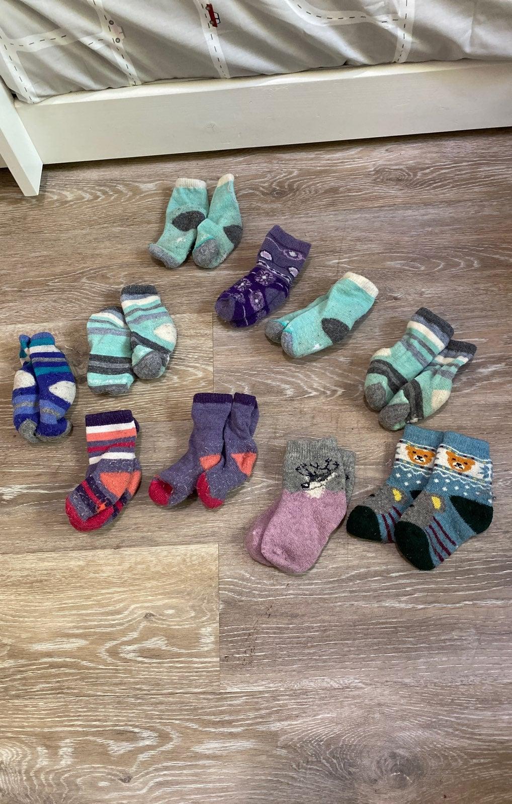 Toddler Smartwool Sock lot