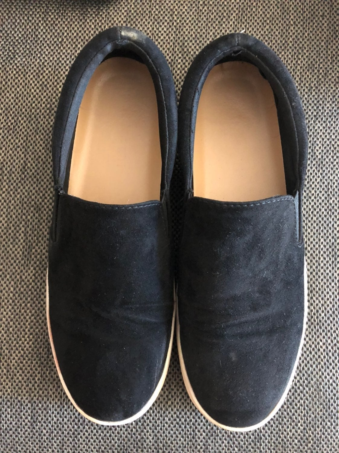 platform canvas shoes