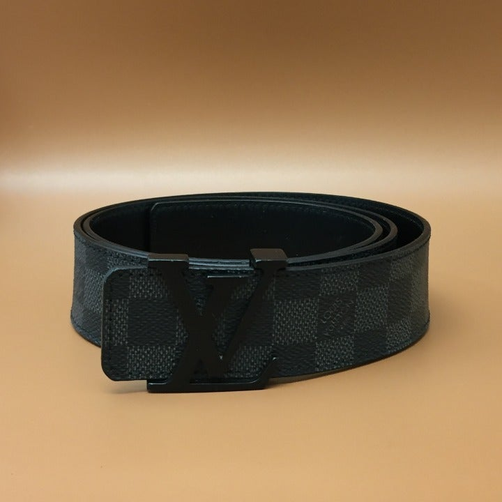 Louis Vuitton Damier Graphite 40mm Belt