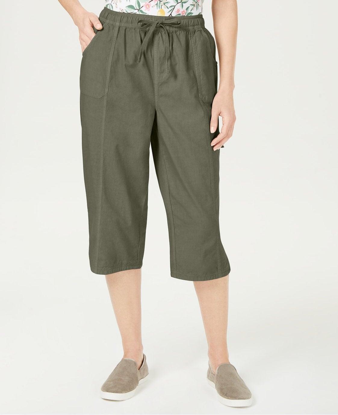 Karen Scott cropped pants