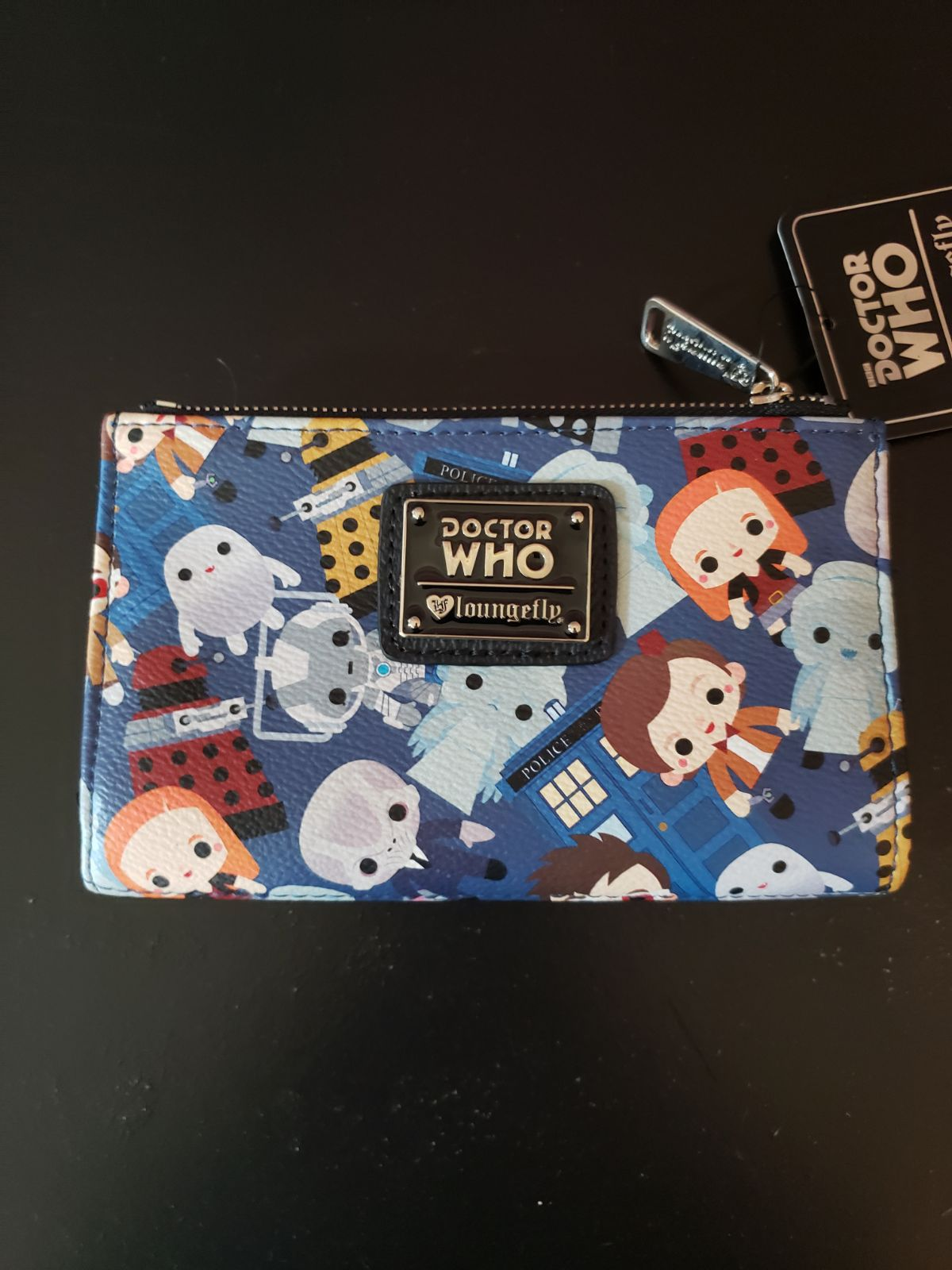 Loungefly Doctor Who Chibi Wallet