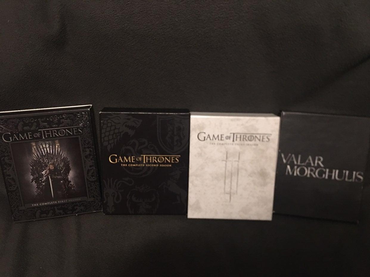 Game of Thrones Bluray Seasons 1-4