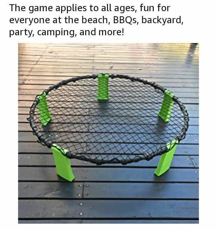 Outugo Beach Volleyball Spike Game Set