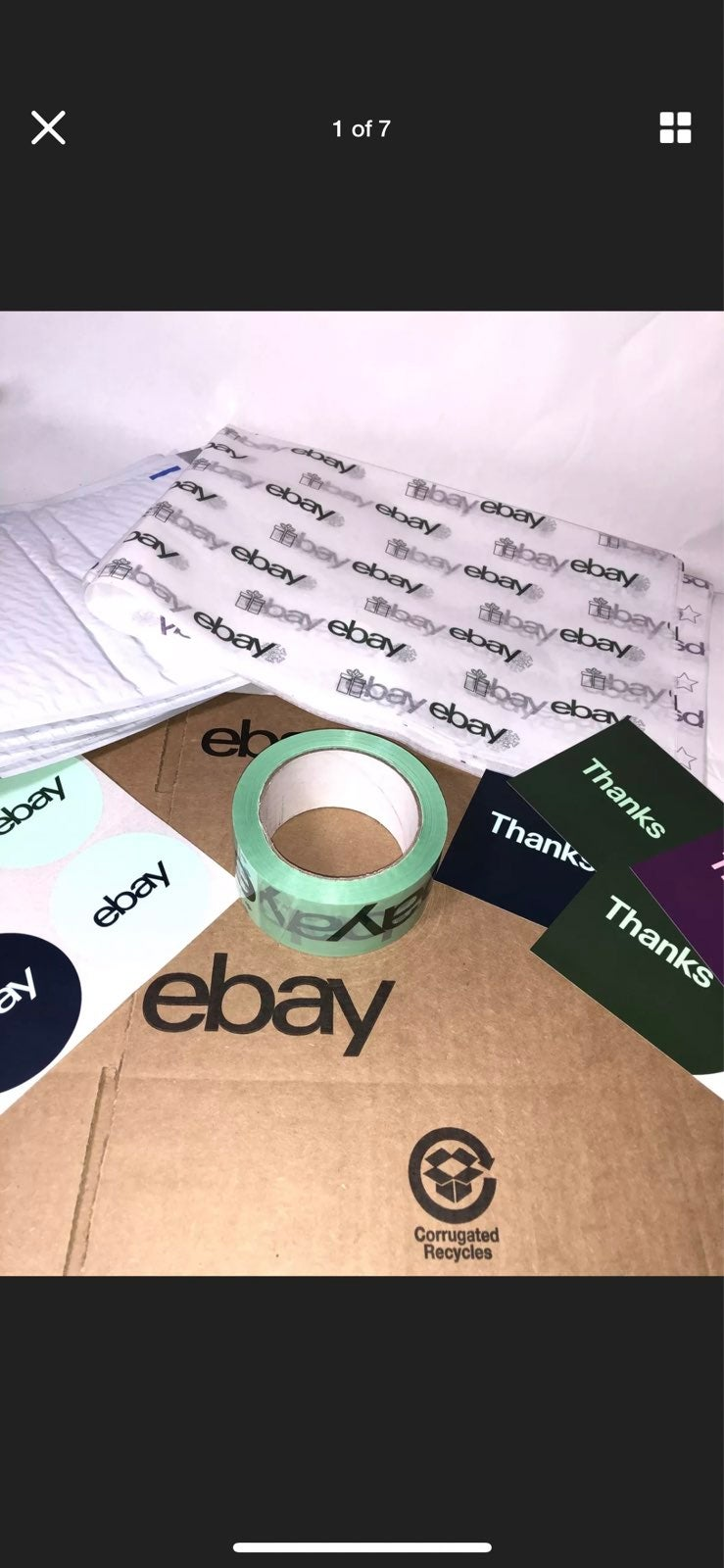18 Ebay Branded Shipping Supplies HOLIDA
