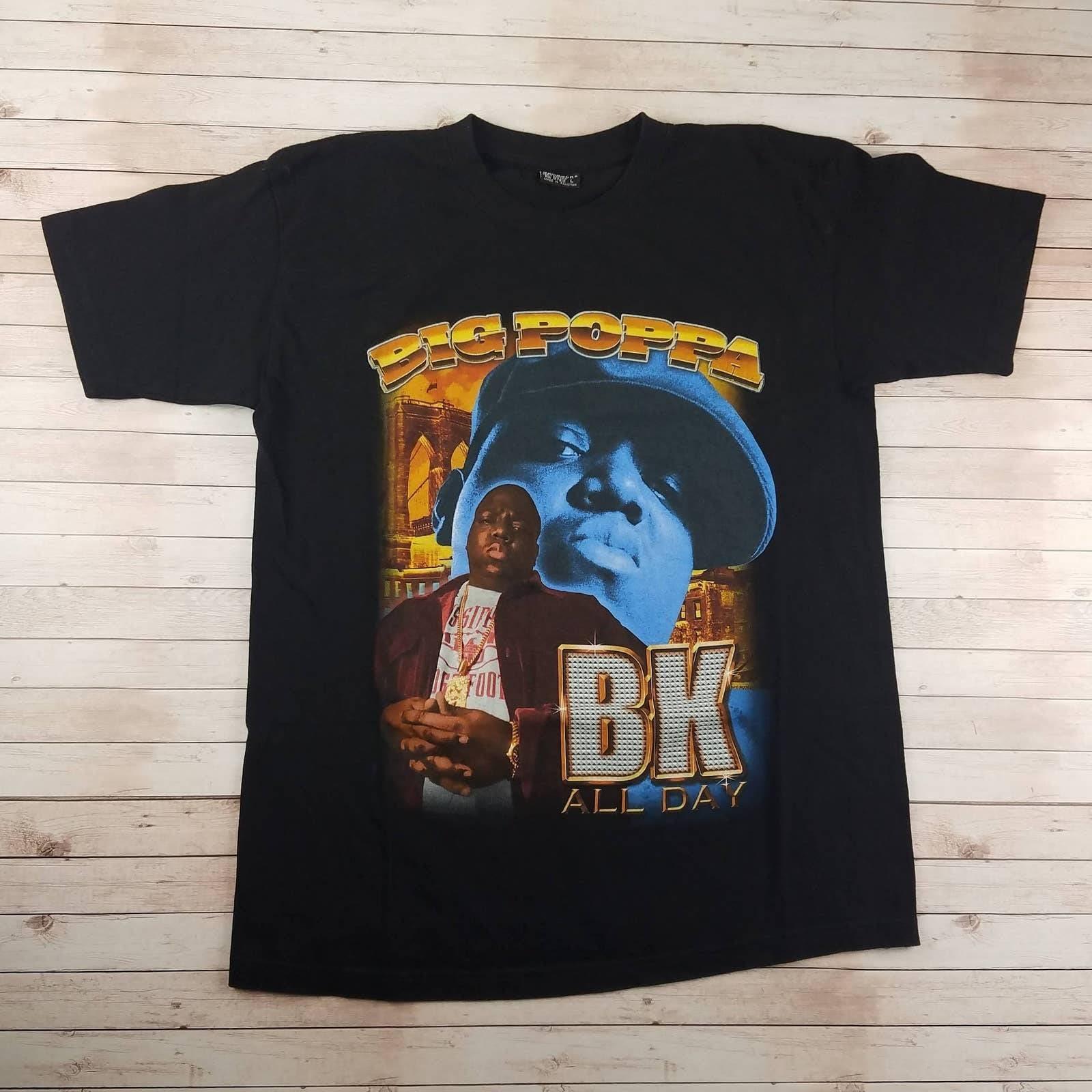 VTG Y2K Biggie BK Gemrock Rap Tee Shirt