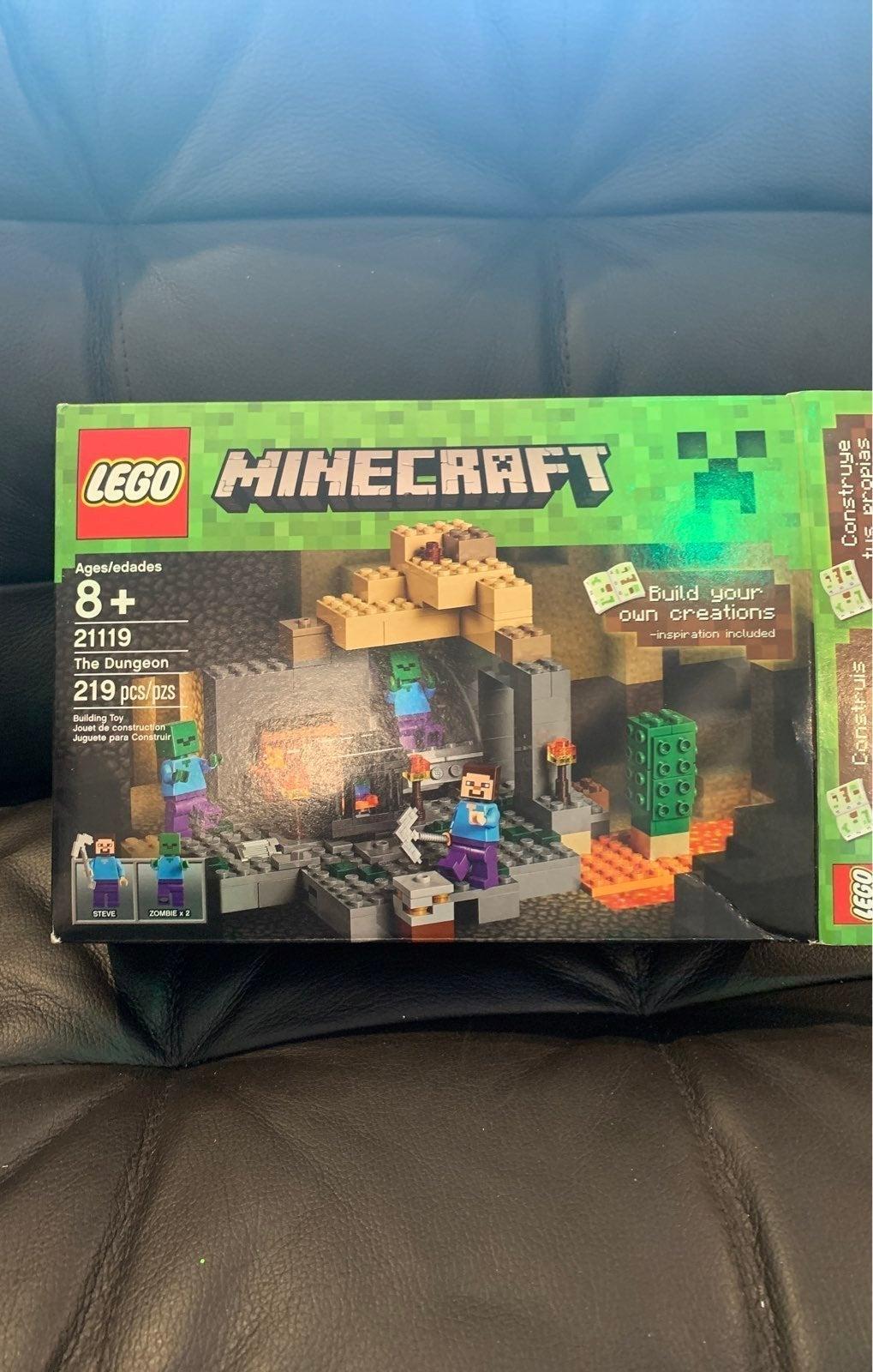 LEGO Minecraft The Dungeon 21119