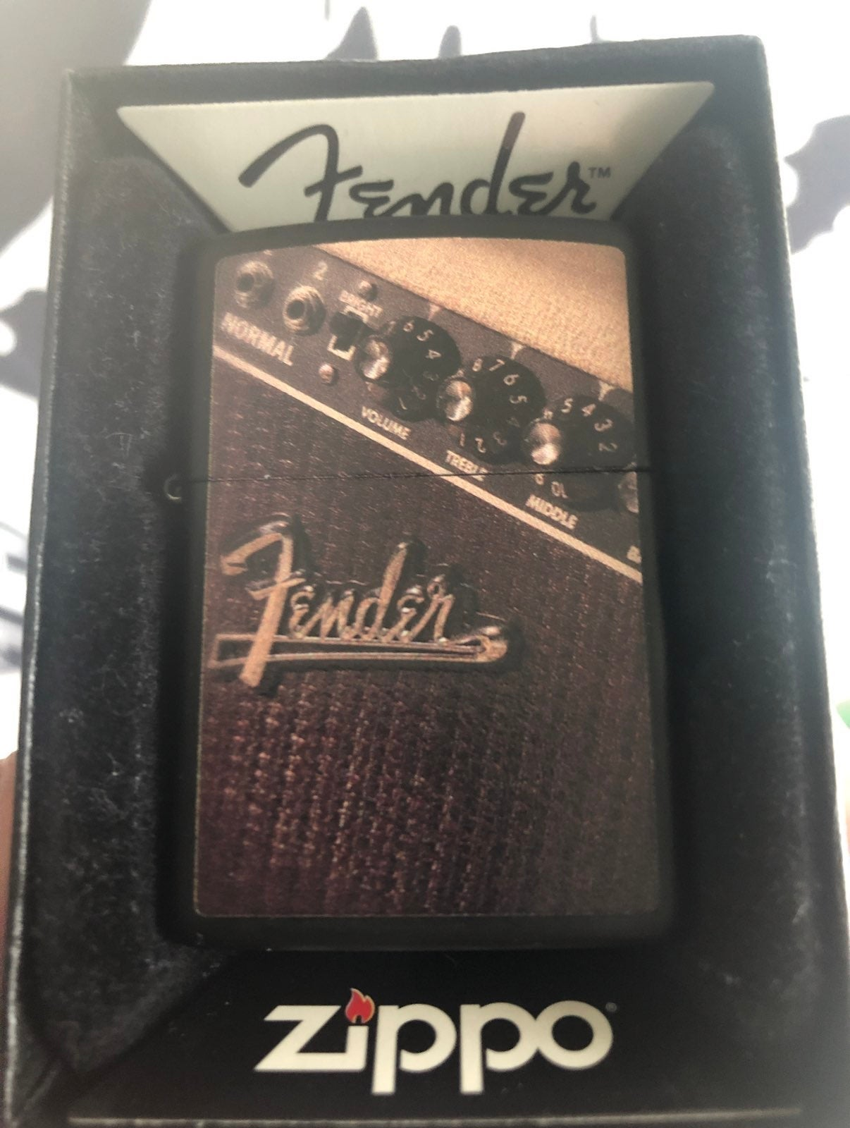 Fender Zippo