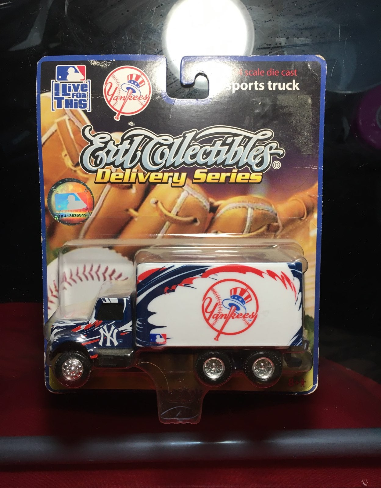 Yankees collectible collectible truck