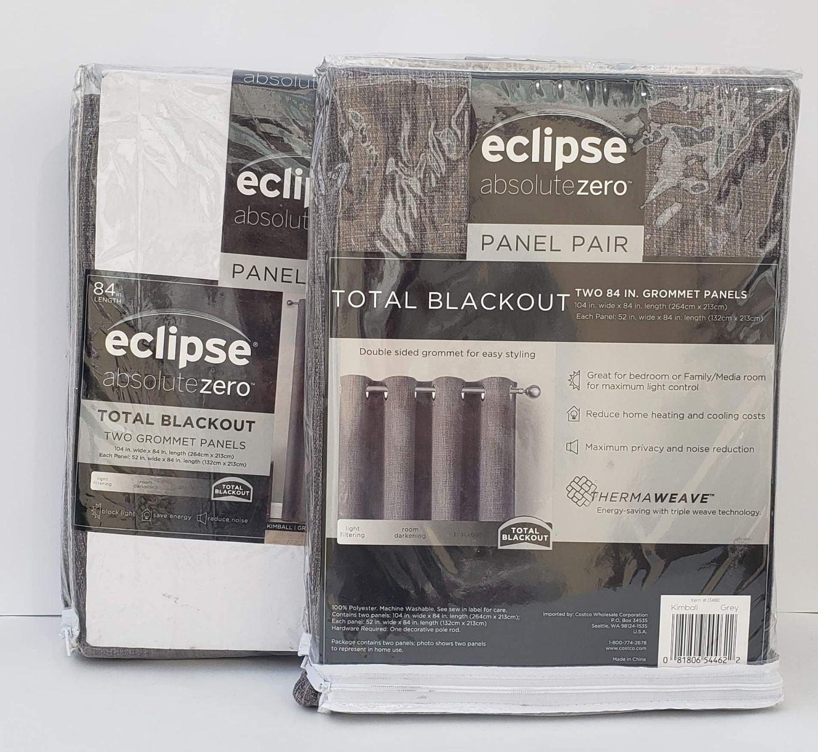 2 panel  Eclipse Absolute Zero Total Bla