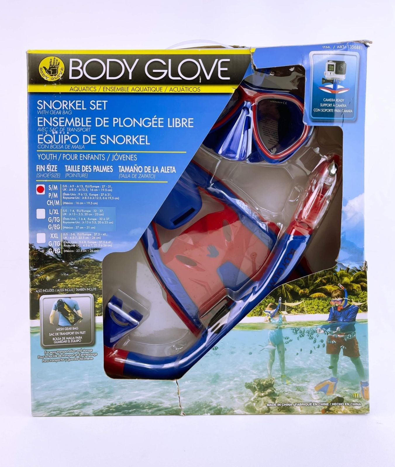 Body Glove Aquatics Snorkel Set With Gea