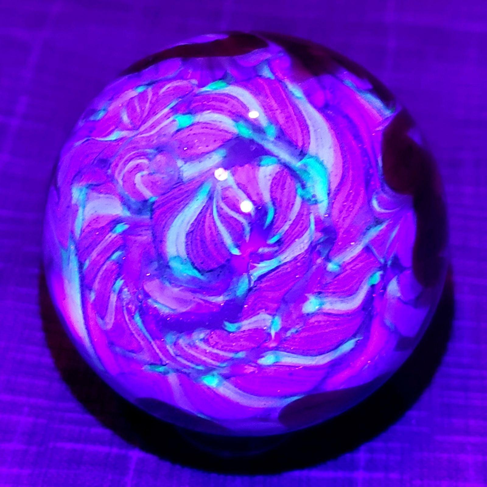 Gus Whatcott UV Glass Marble