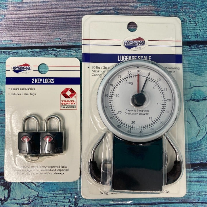 AMERICAN TOURISTER Luggage Scale 2 Locks