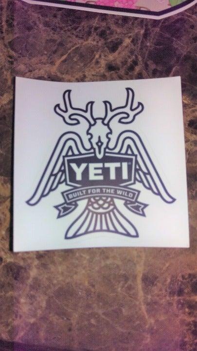 Authentic Sticker - Yeti