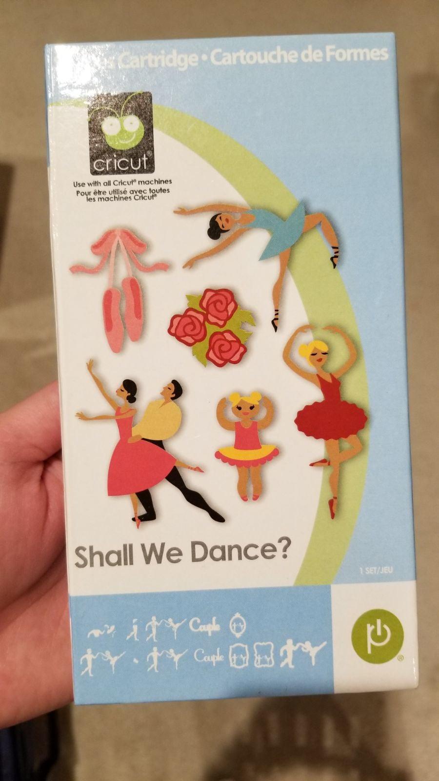 Cricut Shall We Dance cartridge LINKED