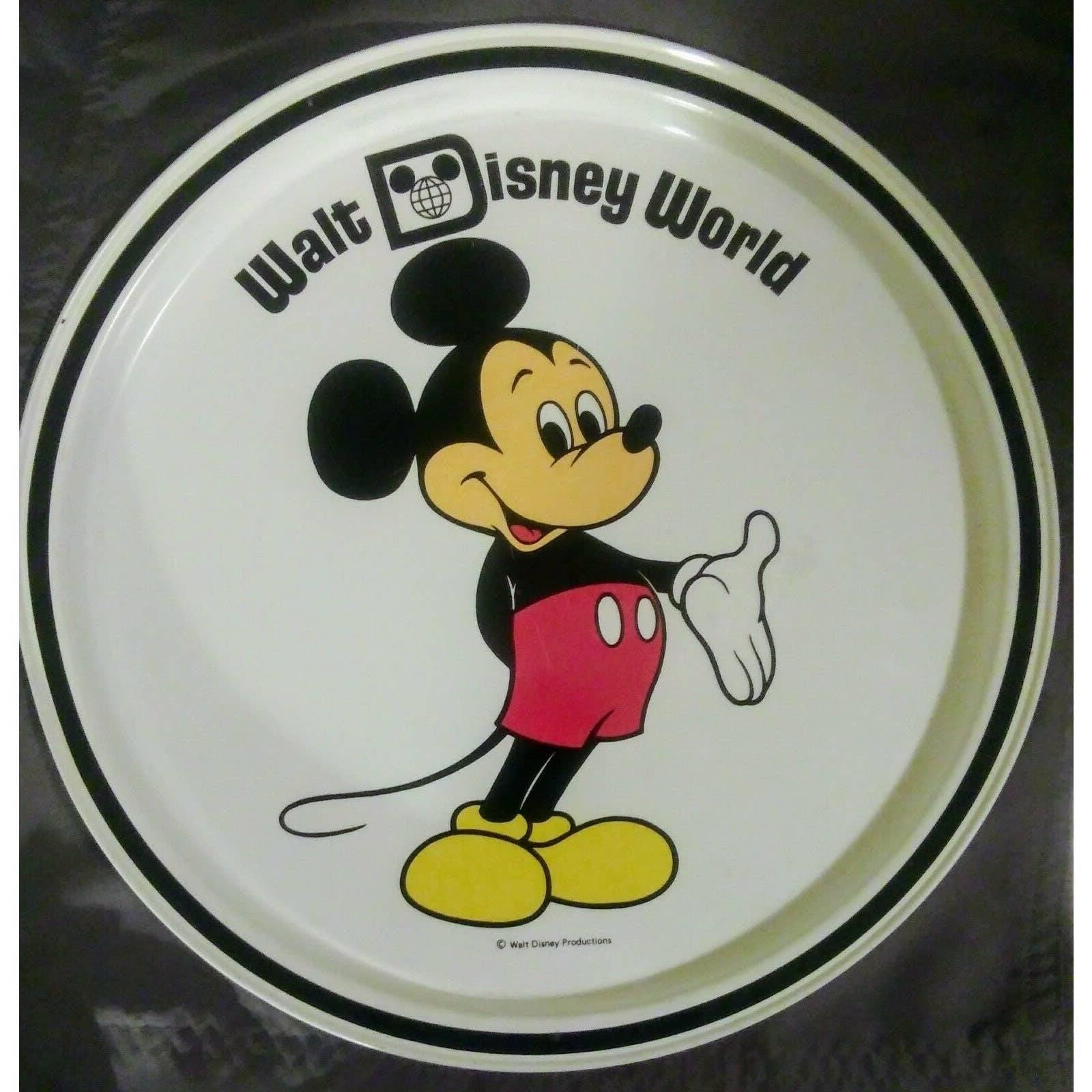 Walt Disney World Souvenir Tin Tray