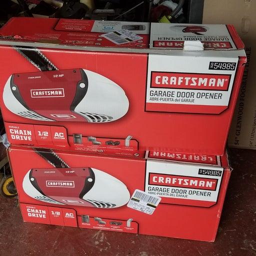 Craftsman garage opener