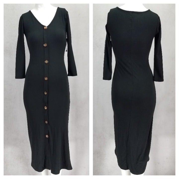 NWT Velvet Torch S V-Neck Midi Dress