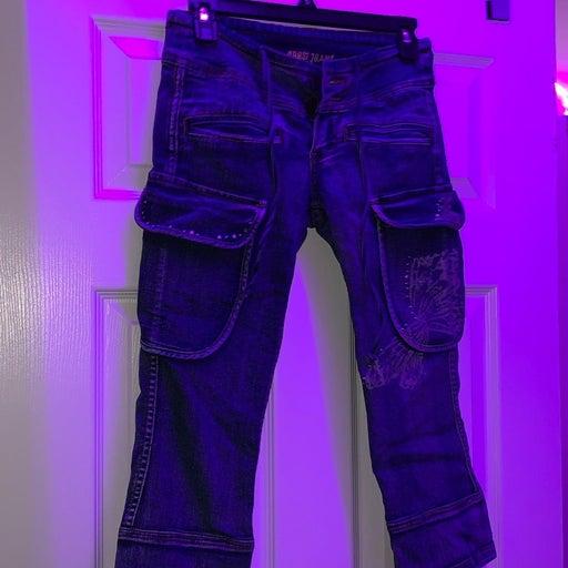 Blue Khaki Jeans   Size: 1/2
