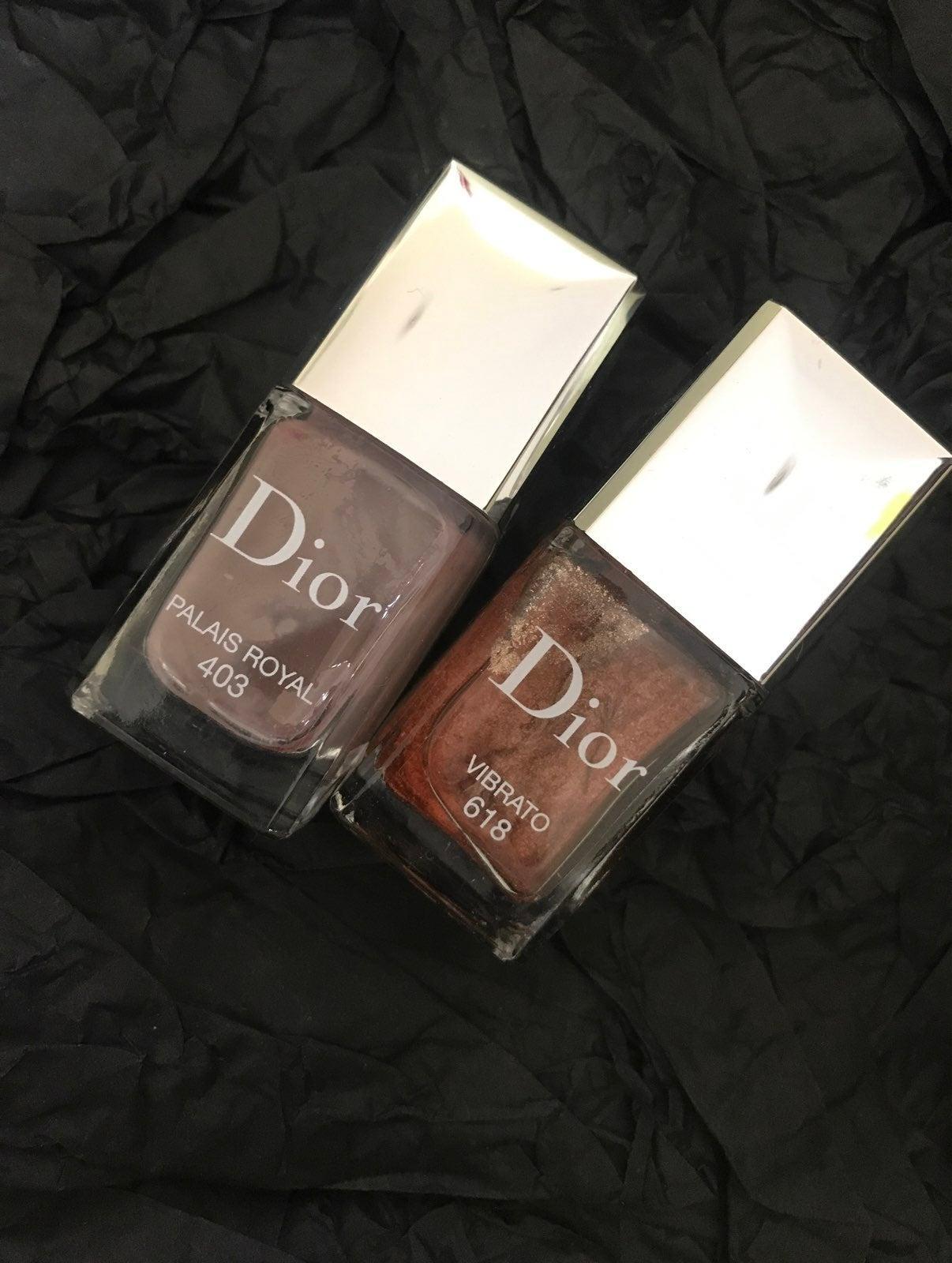 dior vernis 403&618