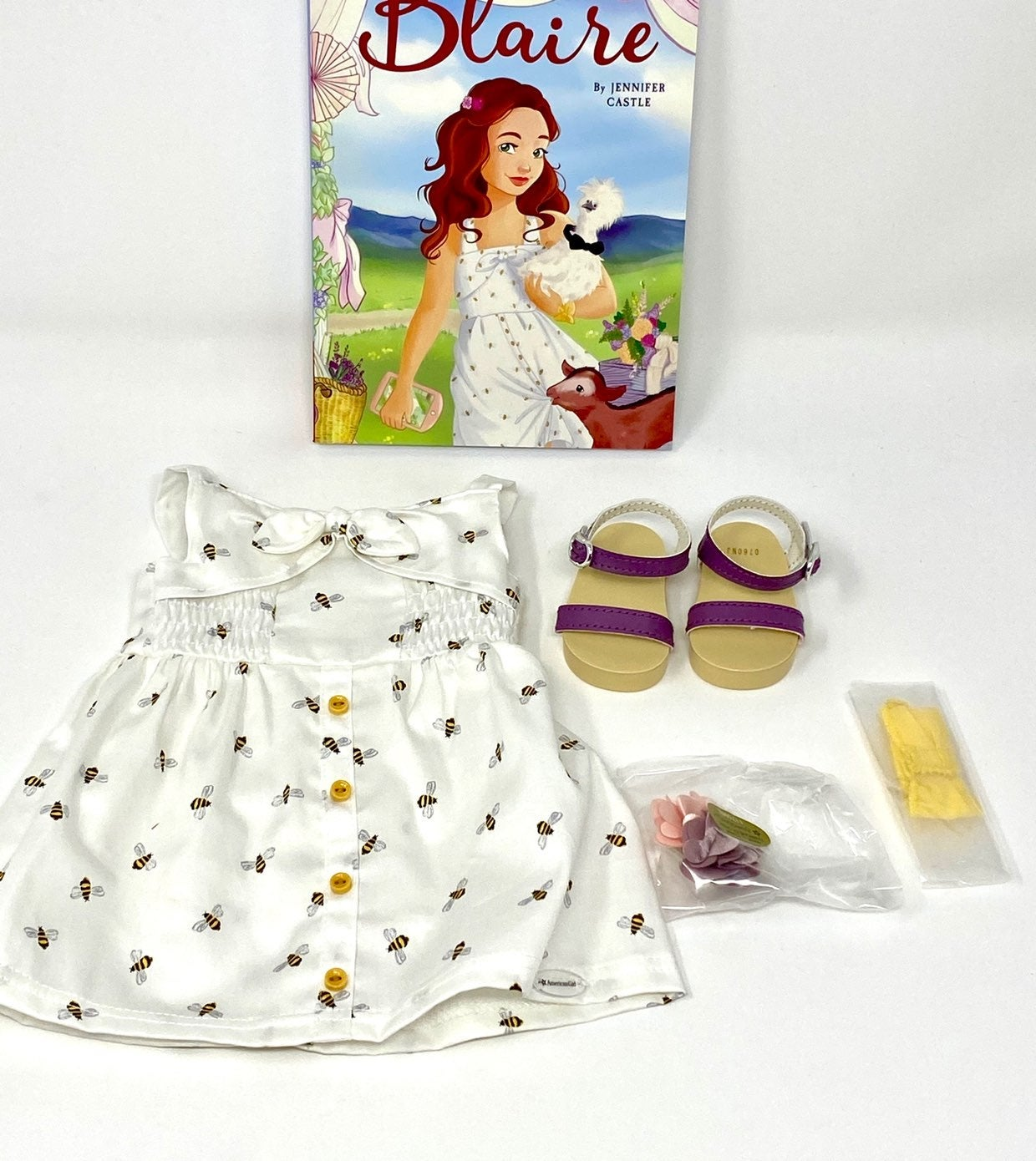 American Girl Blaire Meet outfit